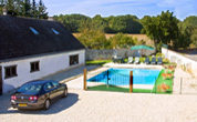 3 Bedroom gite with pool Nr. Vierzon.