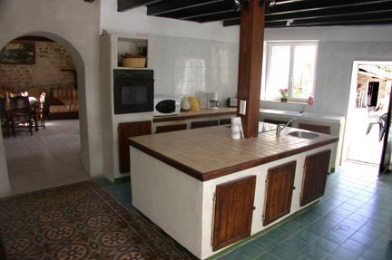 The Kitchen @ Le Cedre, Vendee. France.